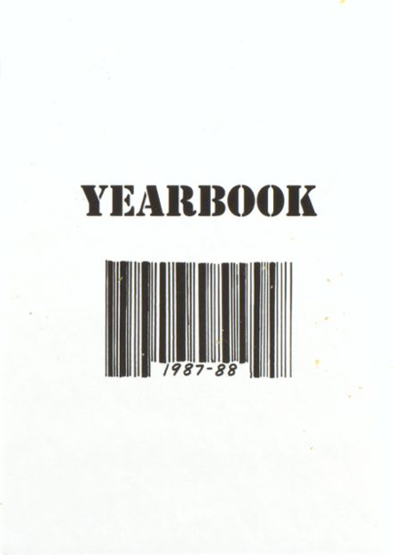 1988 St. Vincent's Academy Yearbook Cover