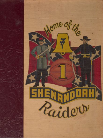 1977 Shenandoah High School Yearbook Cover