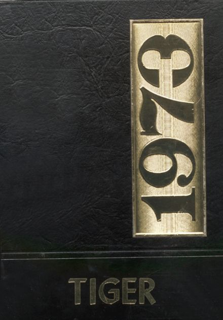 1973 Hollis High School Yearbook Cover