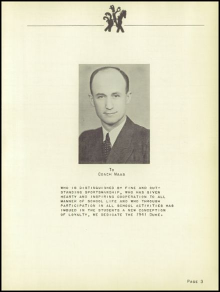 1941 Sutherland High School Yearbook Page 5