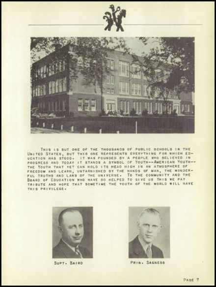 1941 Sutherland High School Yearbook Page 9