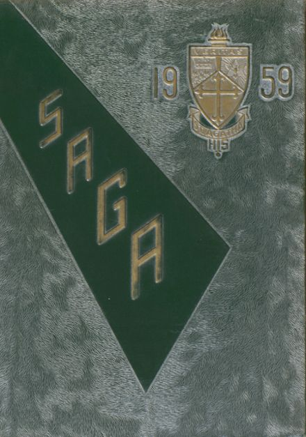 1959 St. Agatha School Yearbook Cover