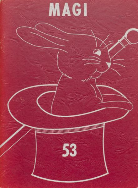 1953 Colon High School Yearbook Cover