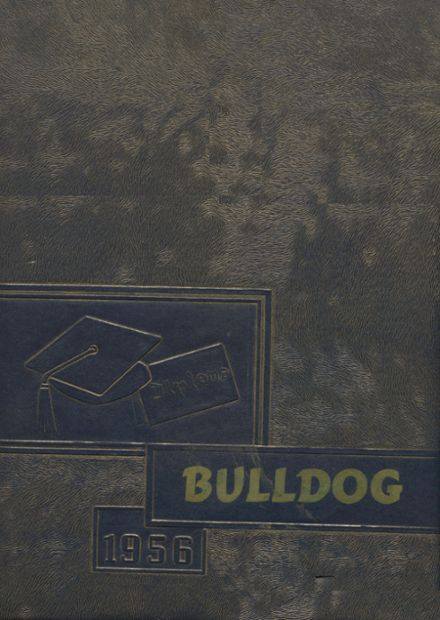 1956 Jay High School Yearbook Cover
