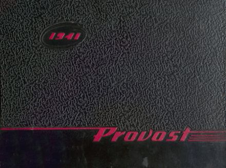 1941 Provo High School Yearbook Cover