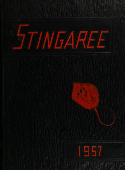 1957 Texas City High School Yearbook Cover
