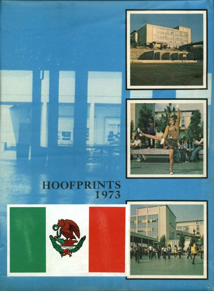 1973 Woodrow Wilson High School Yearbook Cover