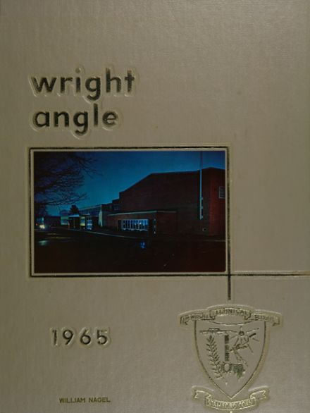 1965 Wright Technical Institute Yearbook Cover