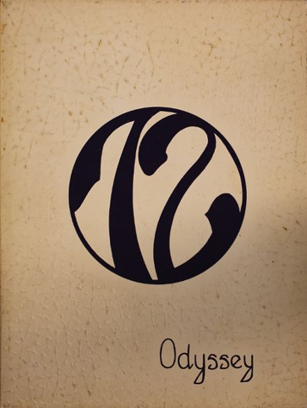 1972 Parkville High School Yearbook Cover