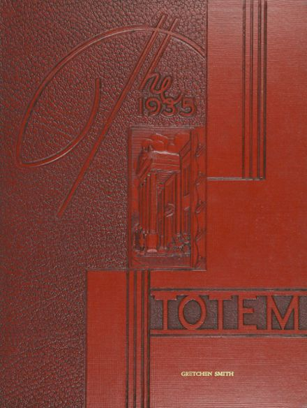 1935 South Side High School Yearbook Cover