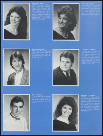 1988 Stillwater High School Yearbook Page 8