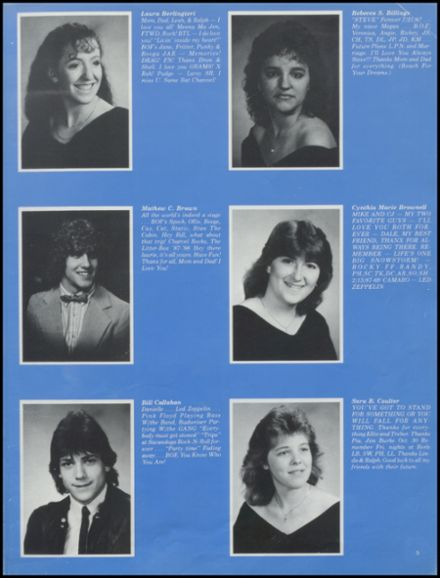 1988 Stillwater High School Yearbook Page 9