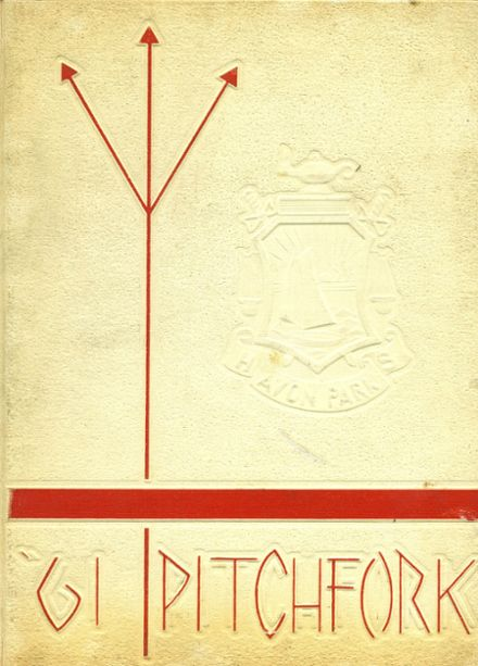 1961 Avon Park High School Yearbook Cover