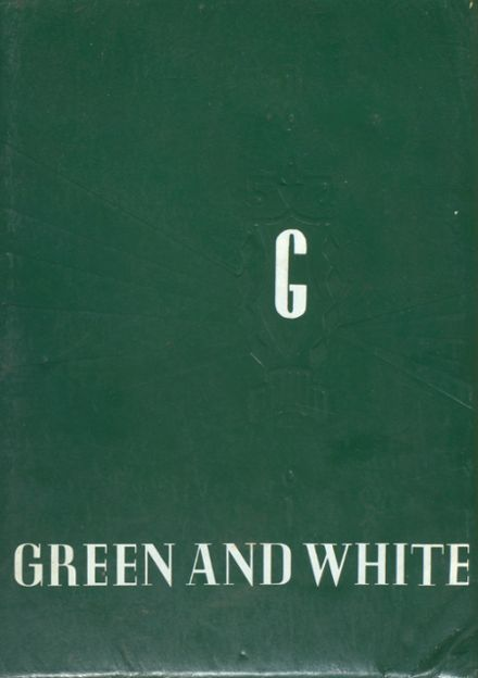 1961 Greene Community High School Yearbook Cover