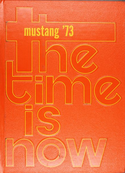 1973 Manitou Springs High School Yearbook Cover
