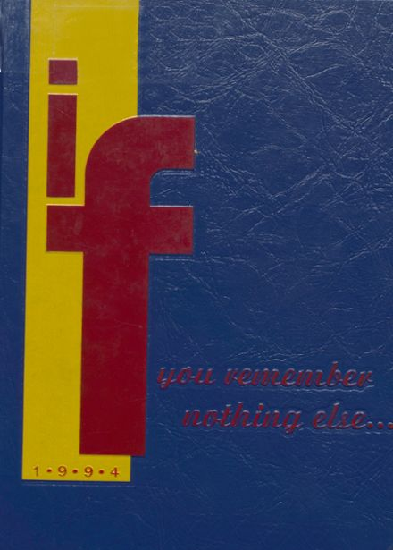 1994 Harrison High School Yearbook Cover