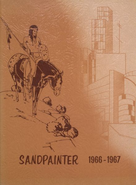 1967 Intermountain Indian High School Yearbook Cover