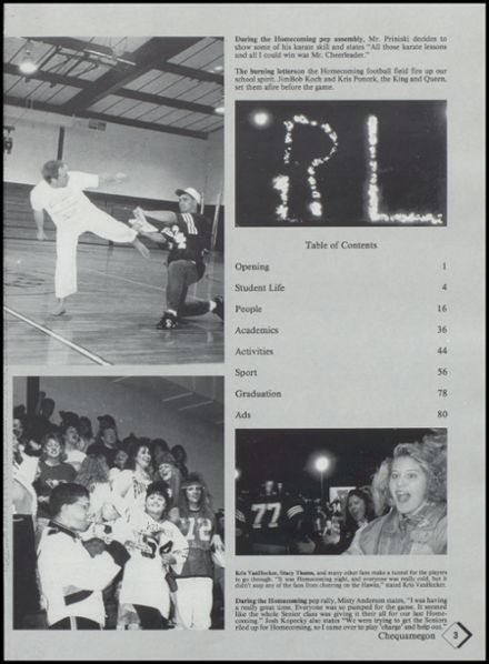 1994 Rib Lake High School Yearbook Page 7