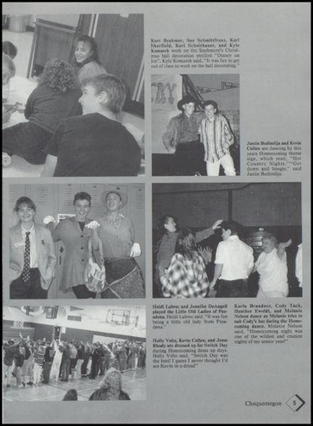 1994 Rib Lake High School Yearbook Page 9