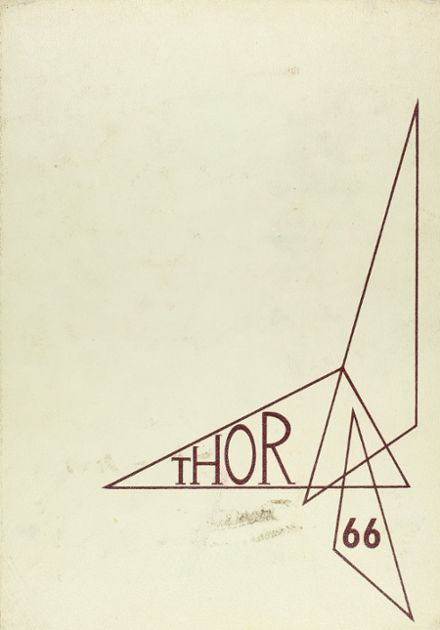 1966 Northside High School Yearbook Cover