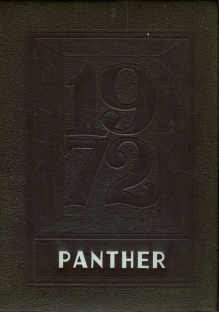 1972 Seymour High School Yearbook Cover