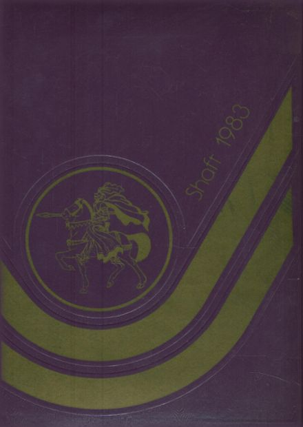 1983 York Central High School Yearbook Cover