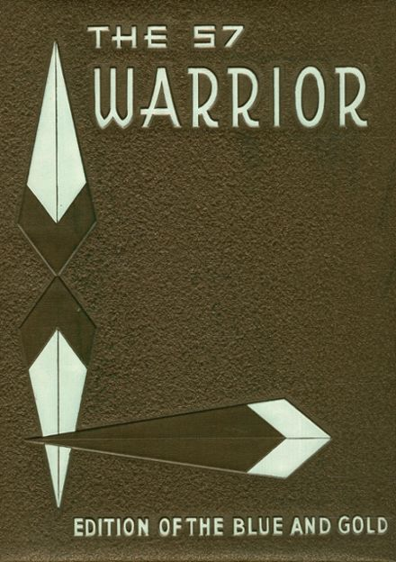 1957 Sterling High School Yearbook Cover