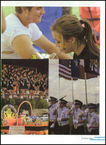 2008 Burkburnett High School Yearbook Page 7