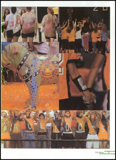 2008 Burkburnett High School Yearbook Page 9