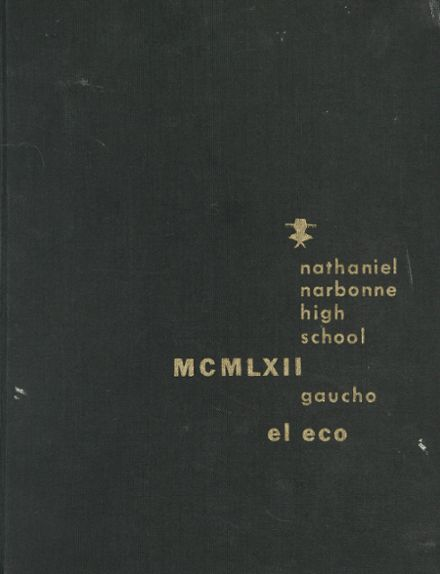 1962 Nathaniel Narbonne High School Yearbook Cover