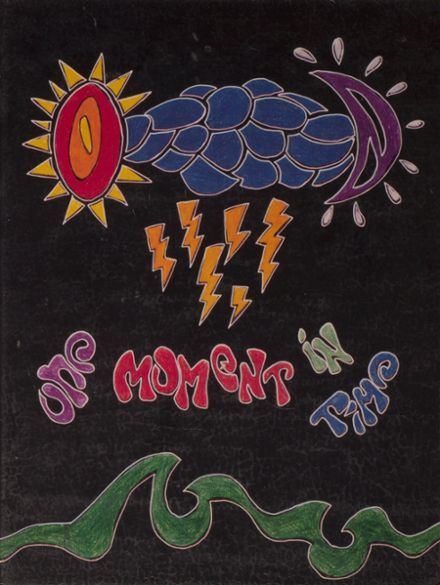 1995 Costa Mesa High School Yearbook Cover
