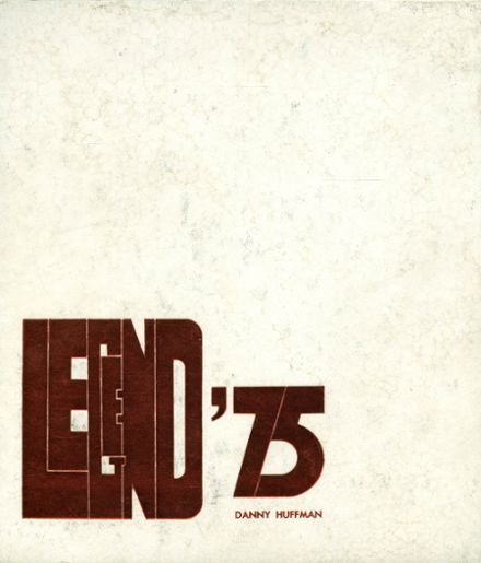 1975 Ft. Defiance High School Yearbook Cover