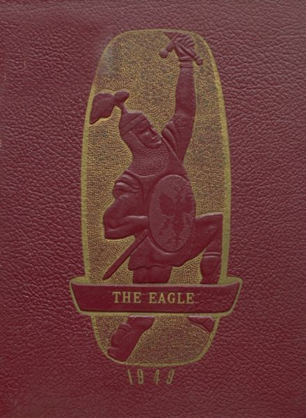 1949 Coldspring High School Yearbook Cover