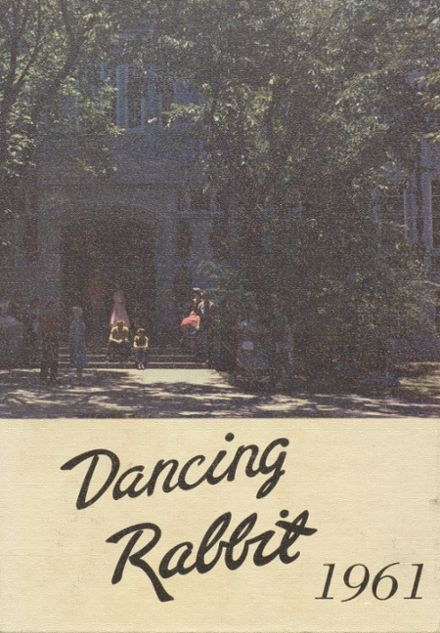 1961 McAlester High School Yearbook Cover