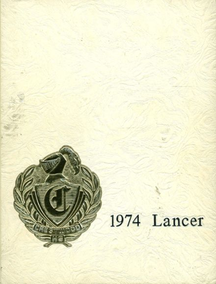 1974 Crestwood High School Yearbook Cover