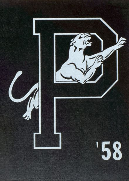 1958 Lynd Senior High School Yearbook Cover