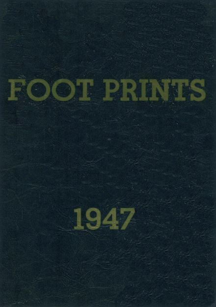 1947 South Hill High School Yearbook Cover
