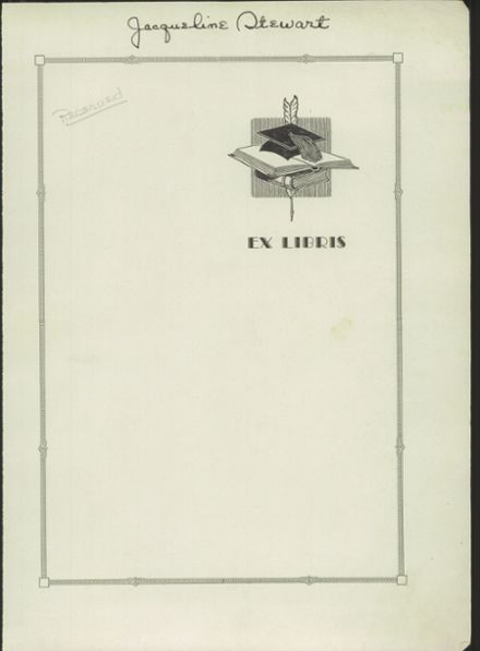 1933 Ripon High School Yearbook Page 5