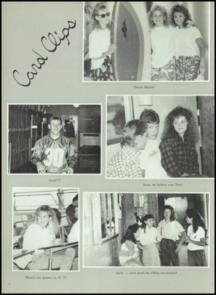 1988 Miller High School Yearbook Page 6