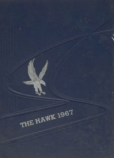 1967 New Hartford High School Yearbook Cover