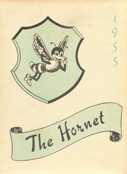 1955 Oroville High School Yearbook Cover