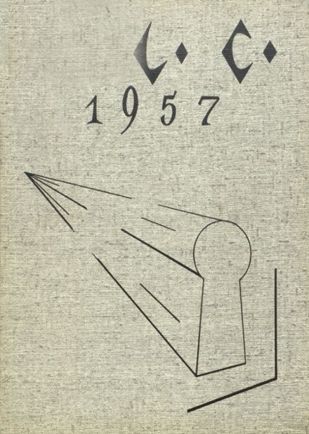 1957 Estherville High School Yearbook Cover