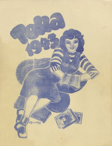 1943 Grants Pass High School Yearbook Cover
