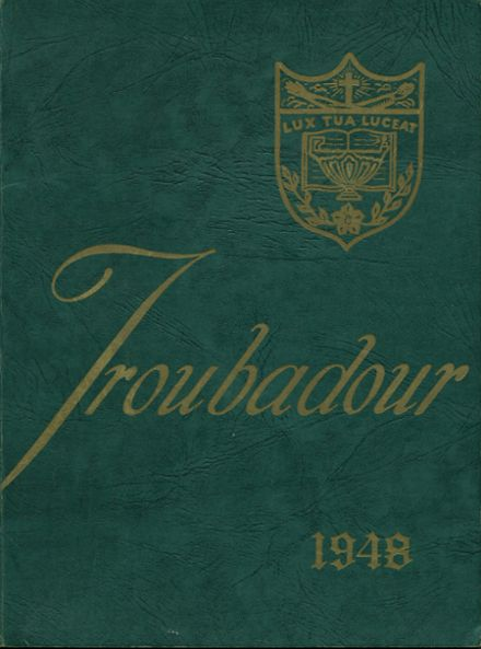 1948 Catholic High School of Baltimore Yearbook Cover