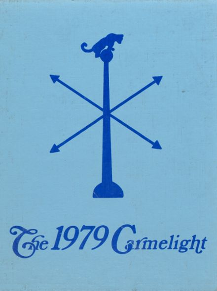 1979 Our Lady of Mt. Carmel High School Yearbook Cover