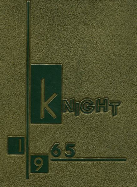 1965 South Hills Catholic Boys High School Yearbook Cover