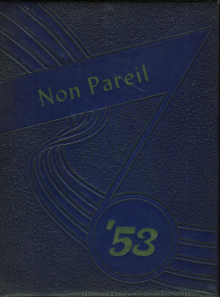 1953 Nether Providence High School Yearbook Cover