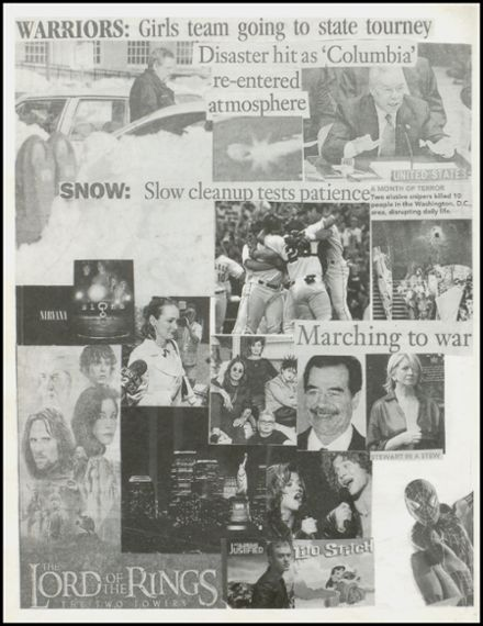 2003 Stillwater High School Yearbook Page 6