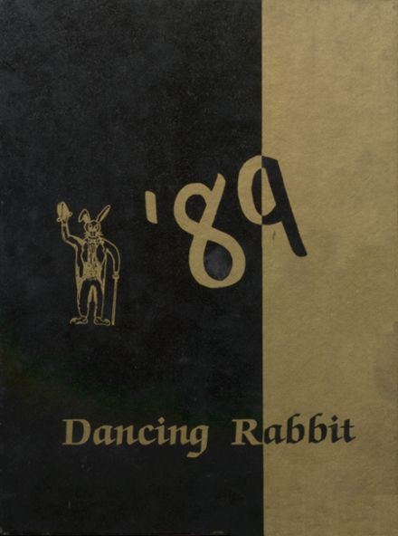 1989 McAlester High School Yearbook Cover