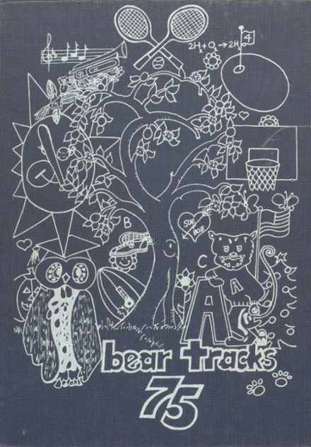 1975 Anderson County High School Yearbook Cover